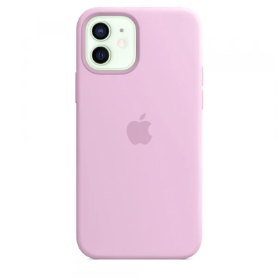 Чехол Apple Silicone Case для iPhone 12 mini Candy Pink