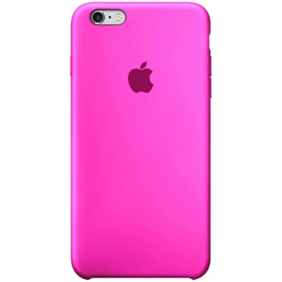 Чехол Apple Silicone Case для iPhone 5/5s/SE Barbie Pink
