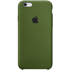 Чехол Apple Silicone Case для iPhone 5/5s/SE Virid (Хаки)