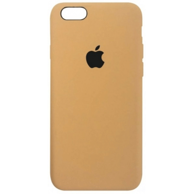 Чехол Apple Silicone Case для iPhone 5/5s/SE Mustard