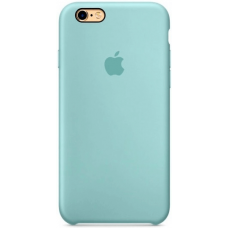 Чехол Apple Silicone Case для iPhone 5/5s/SE Sea Blue