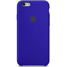 Чехол Apple Silicone Case для iPhone 5/5s/SE Ultramarine