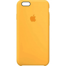 Чехол Apple Silicone Case для iPhone 5/5s/SE Yellow