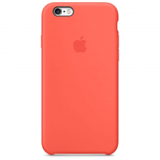Чехол Apple Silicone Case для iPhone 6/6s Apricot