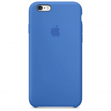 Чехол Apple Silicone Case для iPhone 6/6s Royal Blue