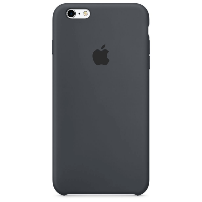 Чехол Apple Silicone Case для iPhone 5/5s/SE Charcoal Gray