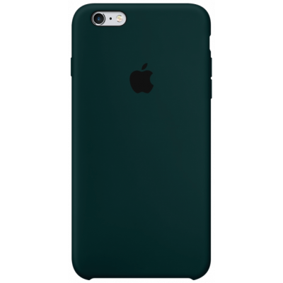 Чехол Apple Silicone Case для iPhone 6/6s Forest Green