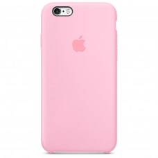 Чехол Apple Silicone Case для iPhone 6/6s Light Pink