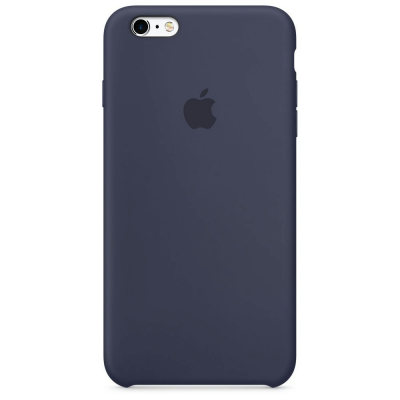 Чехол Apple Silicone Case для iPhone 5/5s/SE Midnight Blue (MKY22)