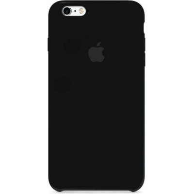 Чехол Apple Silicone Case для iPhone 6/6s Black