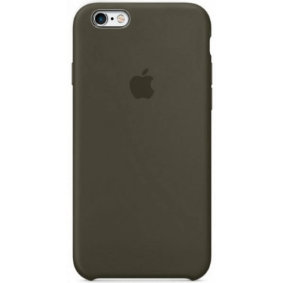 Чехол Apple Silicone Case для iPhone 6/6s Dark Olive