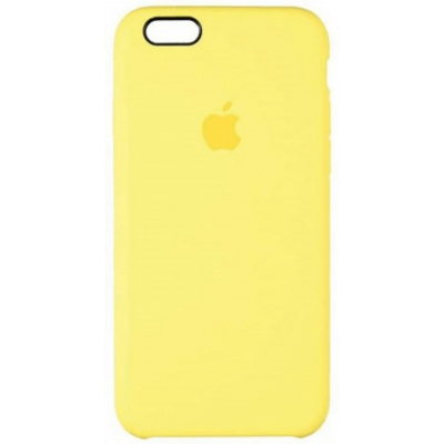 Чехол Apple Silicone Case для iPhone 6/6s Lemonade