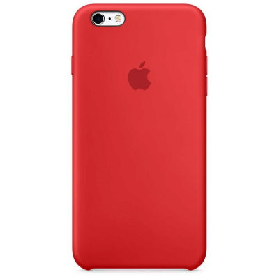 Чехол Apple Silicone Case для iPhone 5/5s/SE Red (MKY32)