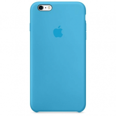 Чехол Apple Silicone Case для iPhone 6 Plus/6s Plus Blue