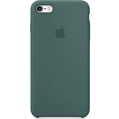 Чехол Apple Silicone Case для iPhone 6 Plus/6s Plus Pine Green