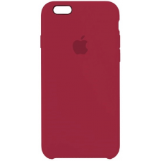 Чехол Apple Silicone Case для iPhone 6 Plus/6s Plus Rose Red
