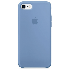 Чехол Apple Silicone Case для iPhone 7/8 Azure (MQ0J2)