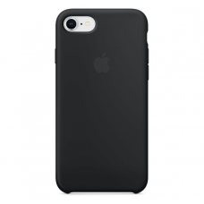 Чехол Apple Silicone Case для iPhone 7/8 Black (MMW82)