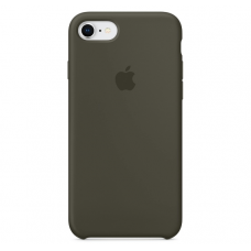 Чехол Apple Silicone Case для iPhone 7/8 Dark Olive