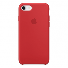 Чехол Apple Silicone Case для iPhone 7/8 Red