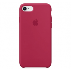 Чехол Apple Silicone Case для iPhone 7/8 Rose Red