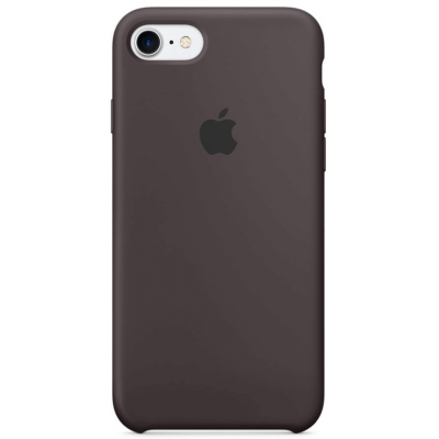 Чехол Apple Silicone Case для iPhone 7/8/SE 2020 Cocoa