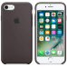 Чехол Apple Silicone Case для iPhone 7/8 Cocoa (MMX22)