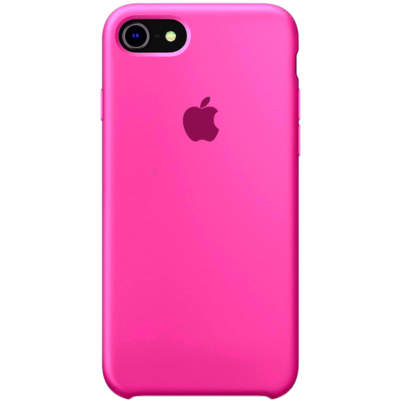Чехол Apple Silicone Case для iPhone 7/8/SE 2020 Barbie Pink