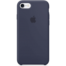 Чехол Apple Silicone Case для iPhone 7/8 Midnight Blue (MMWK2)