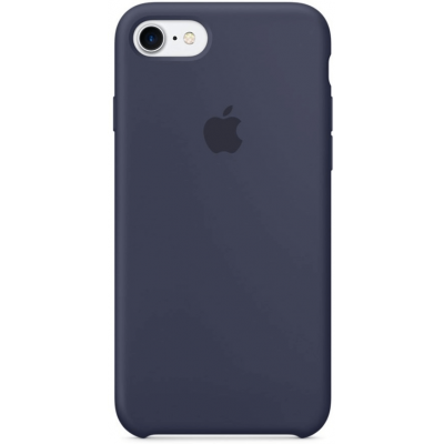 Чехол Apple Silicone Case для iPhone 7/8 Midnight Blue
