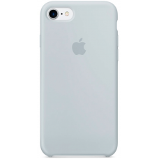 Чехол Apple Silicone Case для iPhone 7/8 Mist Blue (MQ582)