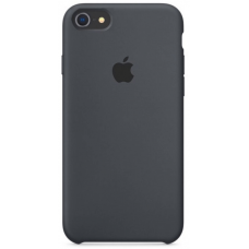 Чехол Apple Silicone Case для iPhone 7/8 Charcoal Gray