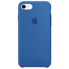 Чехол Apple Silicone Case для iPhone 7/8 Royal Blue