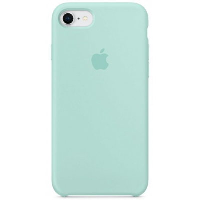 Чехол Apple Silicone Case для iPhone 7/8 Turquoise