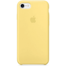 Чехол Apple Silicone Case для iPhone 7/8 Yellow