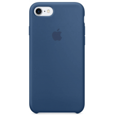 Чехол Apple Silicone Case для iPhone 7/8 Ocean Blue (MMWW2)
