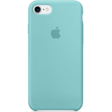 Чехол Apple Silicone Case для iPhone 7/8 Sea Blue
