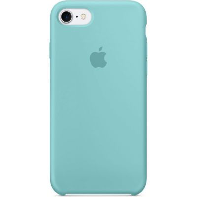 Чехол Apple Silicone Case для iPhone 5/5s/SE Sea Blue (MMX02)