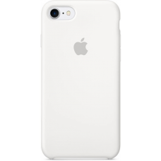 Чехол Apple Silicone Case для iPhone 7/8 White