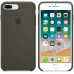 Чехол Apple Silicone Case для iPhone 7 Plus/8 Plus Dark Olive