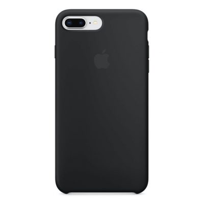 Чехол Apple Silicone Case для iPhone 7 Plus/8 Plus Black