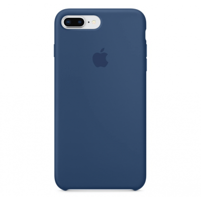 Чехол Apple Silicone Case для iPhone 7 Plus/8 Plus Blue Cobalt