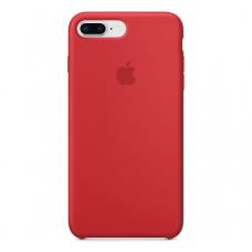 Чехол Apple Silicone Case для iPhone 7 Plus/8 Plus Red