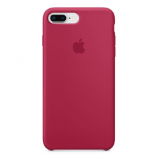 Чехол Apple Silicone Case для iPhone 7 Plus/8 Plus Rose Red