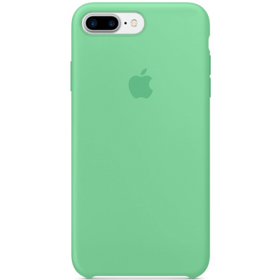 Чехол Apple Silicone Case для iPhone 7 Plus/8 Plus Spearmint