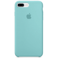Чехол Apple Silicone Case для iPhone 7 Plus/8 Plus Sea Blue
