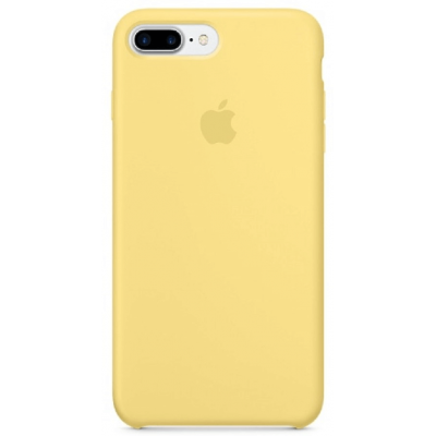 Чехол Apple Silicone Case для iPhone 7 Plus/8 Plus Yellow