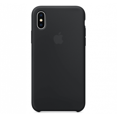Чехол Apple Silicone Case для iPhone Xs Max Black