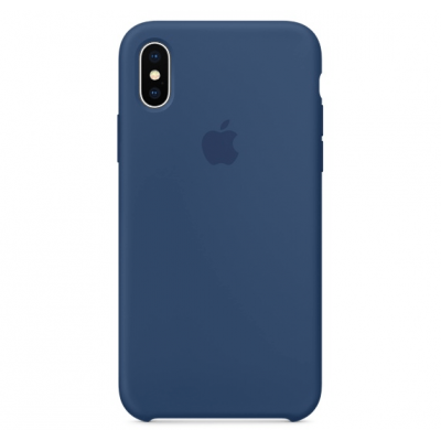 Чехол Apple Silicone Case для iPhone Xs Max Blue Cobalt