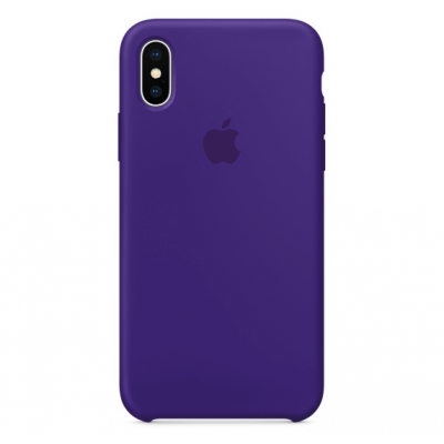 Чехол Apple Silicone Case для iPhone Xs Max Ultra Violet
